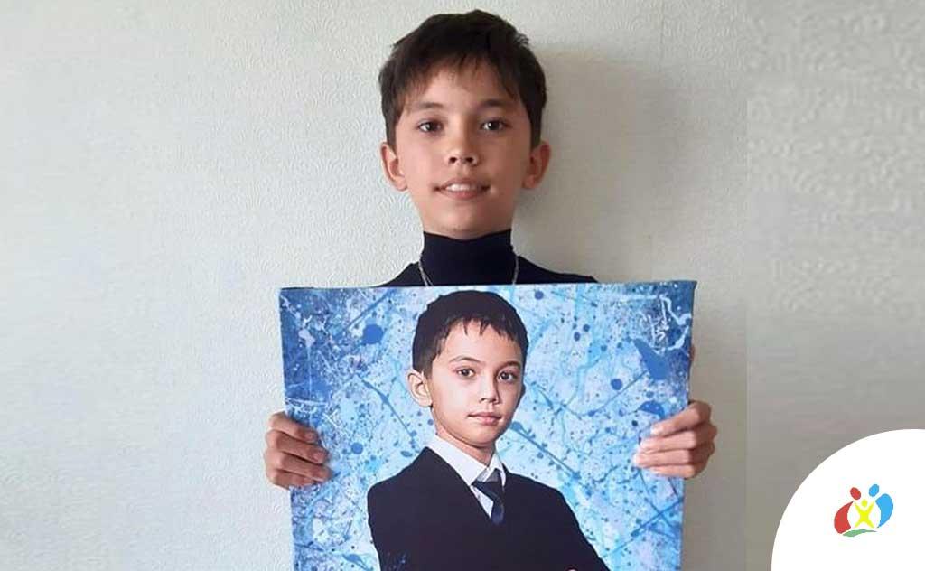 Портрет на день рождения Мухаметов